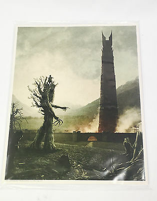 THE LORD OF THE RINGS 8 X 10 Art Print Loot Crate August 2017 KINGDOM EXCLUSIVE