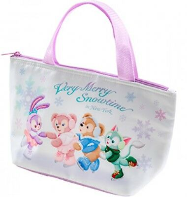 Pre-order 2017 Tokyo Disney Sea Snow time Duffy and Friends  Souvenir Lunch case