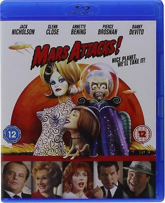 Mars Attack Edicion Uk Con Castellano Tim Burton Bluray Blu-Ray Nuevo Precintado