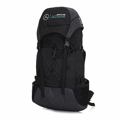 2017 OFFICIAL Mercedes AMG Petronas F1 Backpack Rucksack Bag BLACK - NEW