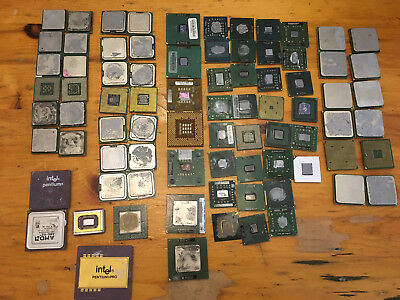 Lot of 3 Lbs 4 oz of CPU for gold recovery