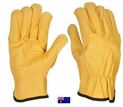 Leather rigger work safety working gloves