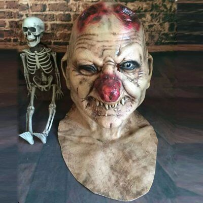 Halloween Creepy ZOMBIE Mask Adult Costumes Accessory Cosplay Party Props