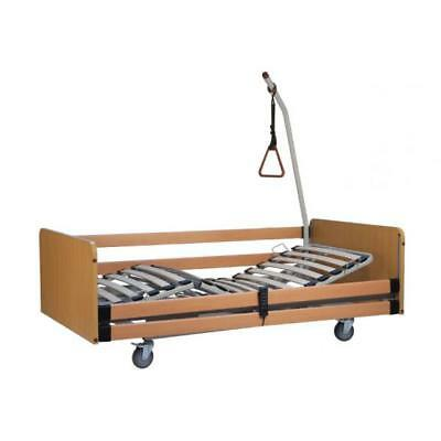 Electric hospital bed elevating three joints with trendelenburg