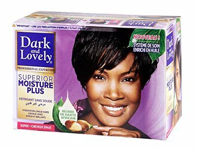 SoftSheen Carson Dark And Lovely Moisture Plus No-Lye Relaxer Super by (P9c)
