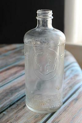 Antique beauty shop very rare bottle HELEN CURTIS