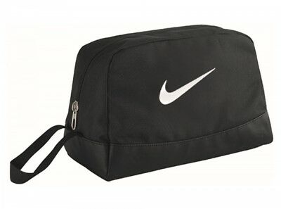 Nike Swoosh Toiletry Wash Bag Black Holidays Travel Sports Official Product