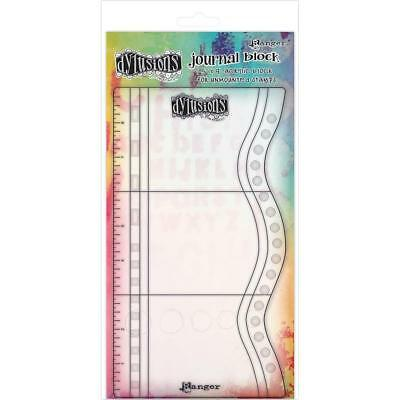 Acrylic Stamping and Art Journal Block by Dylusions with Markings - NEW!
