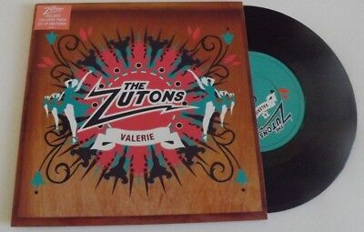 """The Zutons Valerie / Get Up And Dance 7"""" Vinyl 2006"""