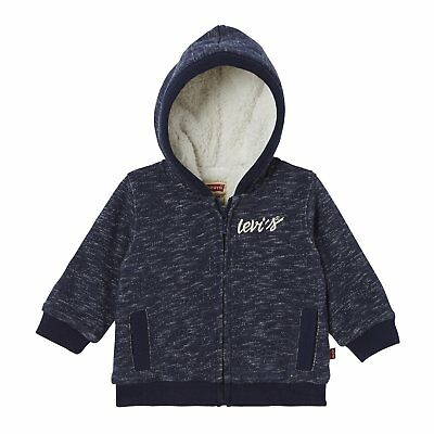 (TG. 6-9 Mesi) Levi's Zipper Douby, Cardigan Bimba, Blu (Dress Blue), 6-9 (u7Y)