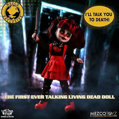 Living Dead Dolls Resurrection Cuddles with Sound Mezco Exclusive