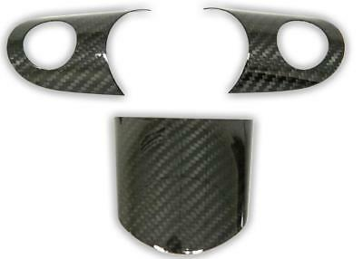 Dry carbon Fiber STEERING WHEEL cover for MINI Cooper R50 R52 R53 GP JCW ONE
