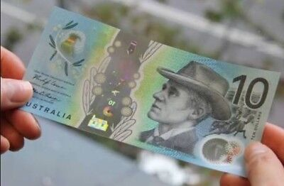 🌟Special AG prefix AUSTRALIA NEW $10 Dollars 2017 Lowe/Fraser 1 x UNC Banknote