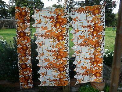CAFE CURTAINS   BRIDGET   Cotton       RETRO  VINTAGE  FABRIC
