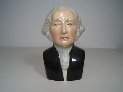 American Presidents Limited Edition Toby Jug George Washington - No. 19 of 1500