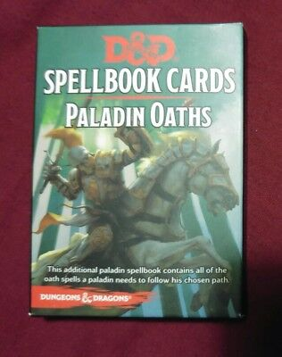 paladin oaths spellbook cards