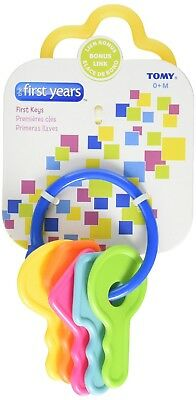 Baby Teether First Toy Soft Teething Keys For Toddlers w/ Toxic Free Materials