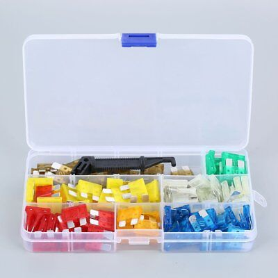 242pcs Automotive Car Boat Truck Fuse Box Assortment 5A 10A -30A Best #L
