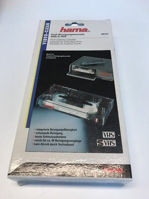 Hama Video Clean VHS / S-VHS 44727