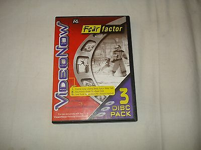 Fear Factor 2003 VideoNow  3 Disc Pack
