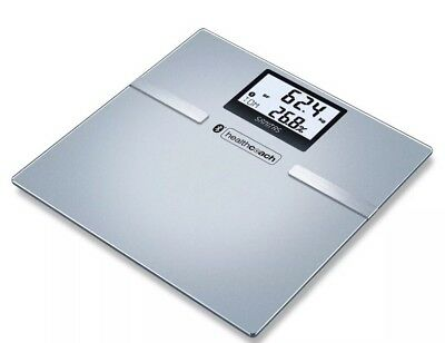 Sanitas SBF 70 Bluetooth Diagnostic Scale Body Fat Water & Muscle 180 Kg GENUINE