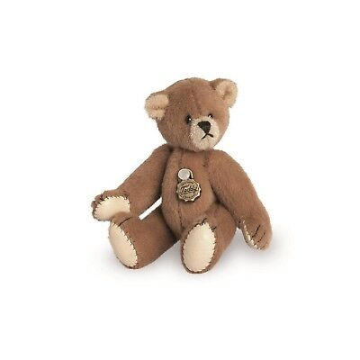 Teddy Hermann fully jointed collectable miniature teddy bear in gift box 15417 4