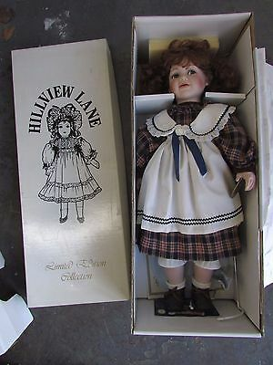 Australia Made Porcelain Doll Hillview Lane Limited Edition Candice Original Box