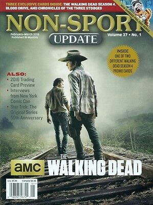 Non Sport Update - The Walking Dead Cover + Star Trek - Comic Con - No Cards