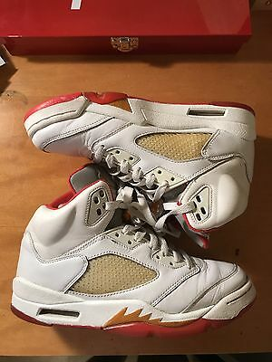 a91ca919545 2006 Air Jordan 5 Sunset Size 7.5 Women's/Men's Size 6 Used Great Condtion!