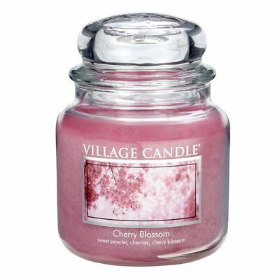 New Village Candle Cherry Blossom 16 Oz Double Wick Candle