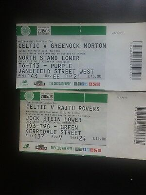4 Celtic Home Tickets  2015/2016