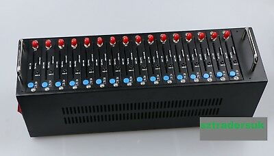 16 Ports GSM Modem (Used - Excellent Condition - Original Packaging)