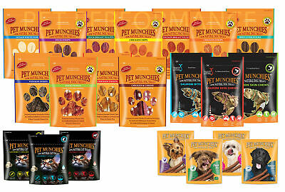 Pet Munchies - Dog/Cat Training Irresistible 100% Natural Treats - Resealable Ba