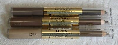 Revlon Colorstay Brow Fantasy Pencil & Gel - Colour choice - New not sealed