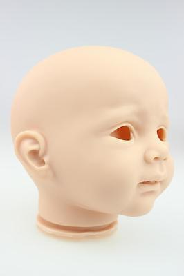 24''Reborn Baby Kits Softs Silicone Vinyl Head Arms Legs for Reborn Baby Doll uk