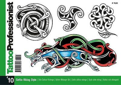 INSPIRE UK  Professionist 10 CELTIC Tattoo Designs FLASH LINE DRAWINGS TB310