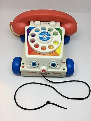 Fisher Price retro Chatter Phone Pull Along Toy Story