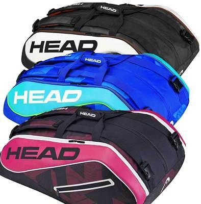 Head Tour Team 12R Monstercombi - Tennistasche mit Rucksackfunktion, Sonderpreis