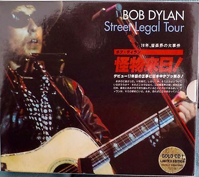 Bob Dylan-Street Legal Tour-Limited Edition-7 Gold CD's-Japan