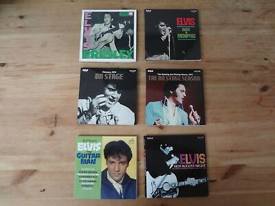 Elvis Presley Lot: 6 FTD Releases (Used, Great Condition)