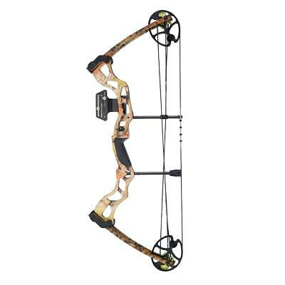 New Powerful Archery Adult Camo Hunting Compound Bow Set Kit 70lb + Accessories