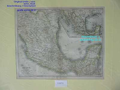 10870-Mexiko-Mexico-KARTE-MAP-LML-1875