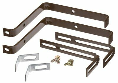 Emsa 5950002400 BASIC Window Box brackets, brown