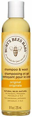 Burts Bees Baby Bee Shampoo and Wash, 235 ml