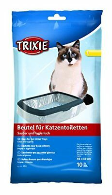 Trixie Cat Litter Tray Bags 46 x 59  10 Pack