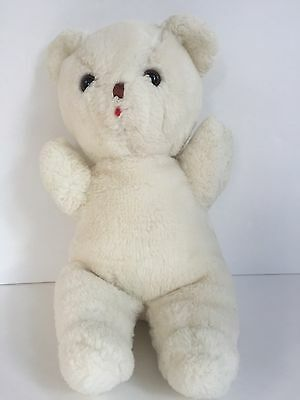 Vintage Eden White Teddy Bear Plush