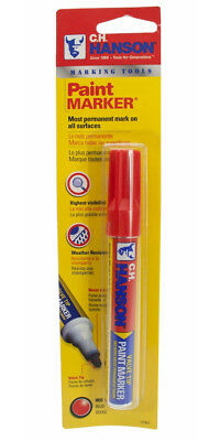 CH Hanson 10362 Red Paint Marker - 1 Count