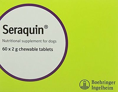 Seraquin Joint Supplement for Dogs Tablets 60 x 2 g