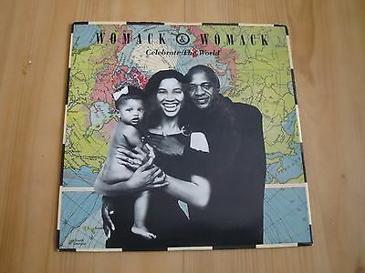 """Womack & Womack - Celcbrate The World (Island 7"""")"""