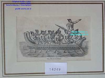 14249-Neuseeland-New Zealand-CANOE-TH-1850